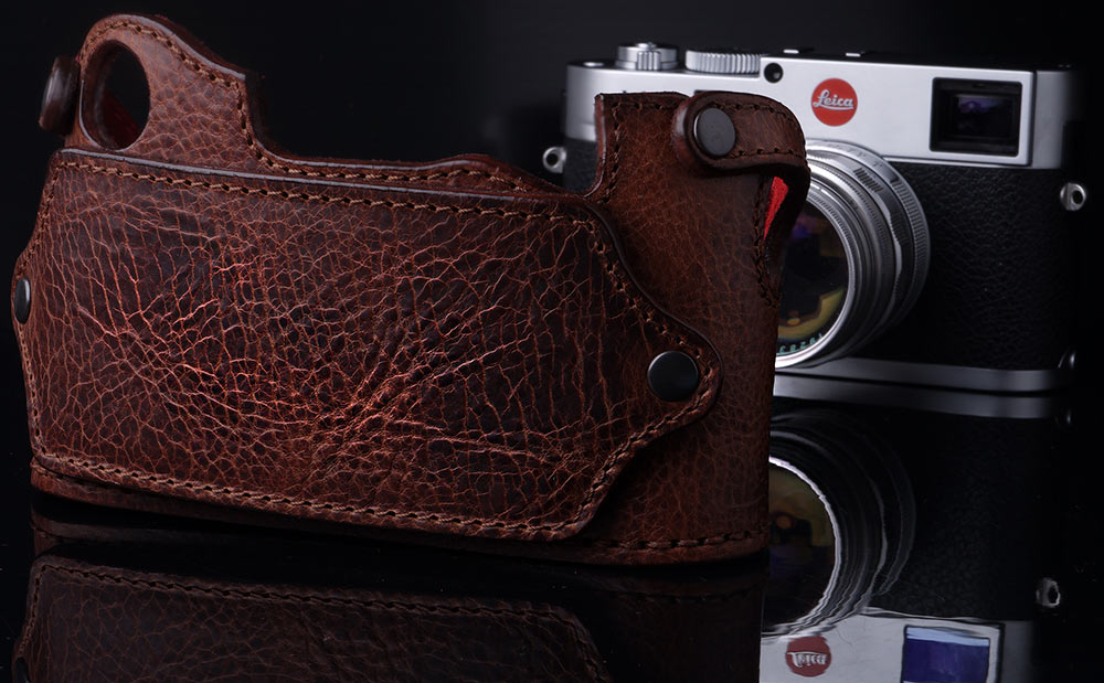 LEICA M8 FOXY BROWN CASE BACK