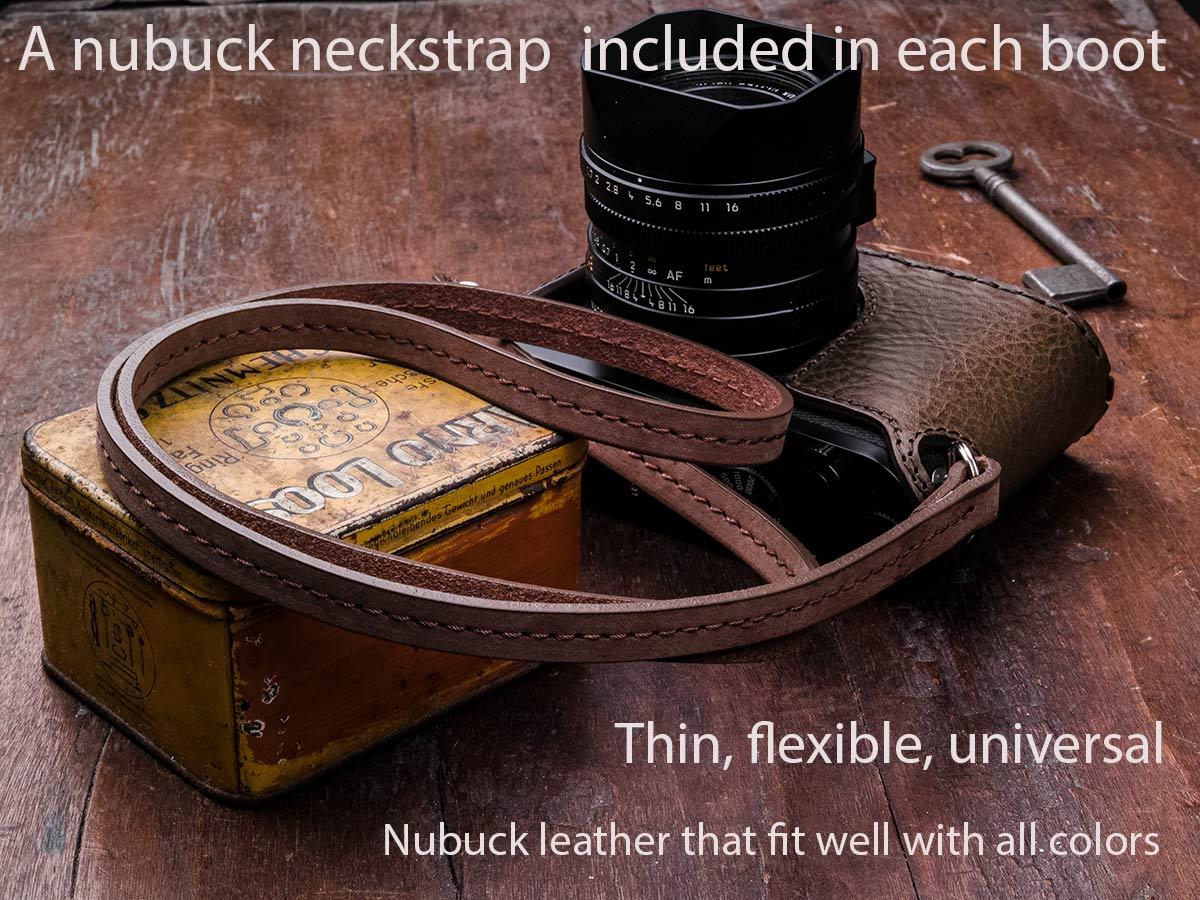 nubuck strap