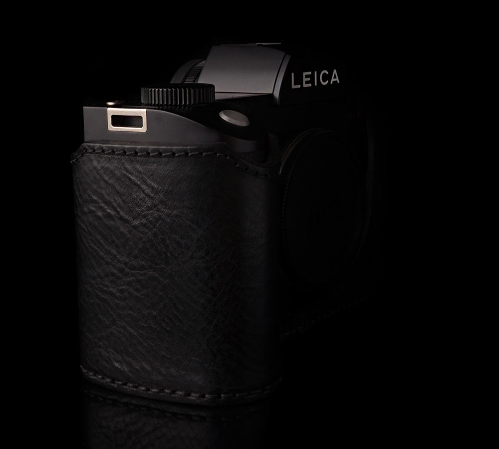 LEATHER HALF CASES FOR LEICA SL 601