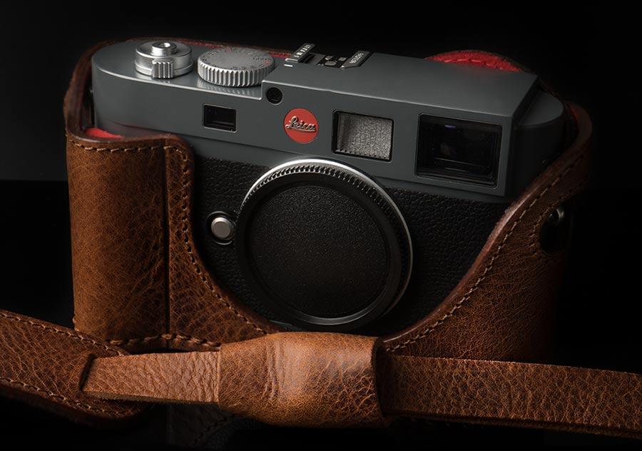 LEICA M8 FOXY BROWN CASE